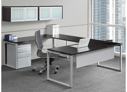 Elements Plus U Shape Desk with Hutch