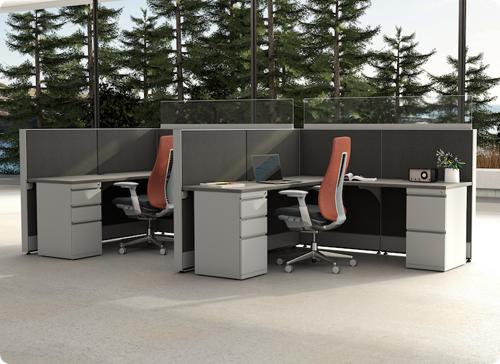 RSI EZ Cubicle Typical Workstation Plus A