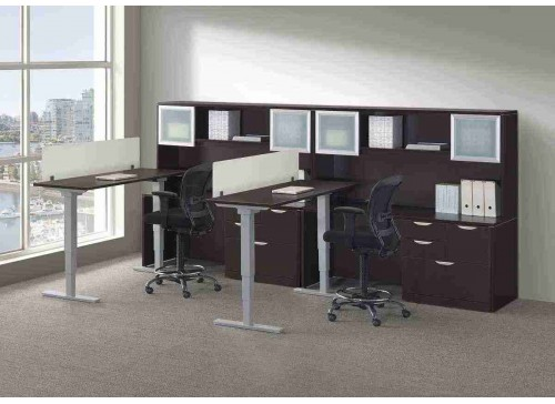 Elements Height Adjustable Desk Table