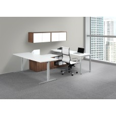 Elements Plus Height Adjustable Executive Desk