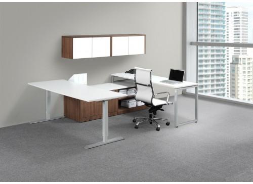Elements Plus Height Adjustable Executive Desk