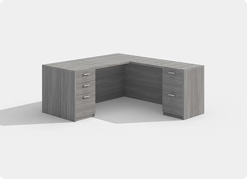 Laminate Desk Workstation Style B