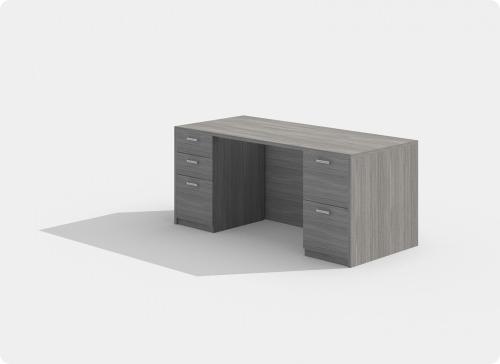 Laminate Desk Workstation Style C