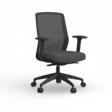 Atto Task Chair Black