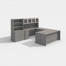 Laminate Desk Workstation Style A