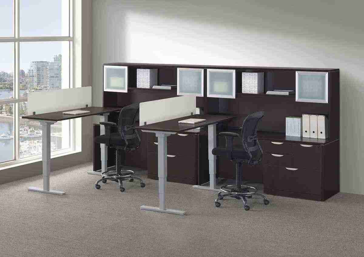 Elements Height Adjustable Desk Table
